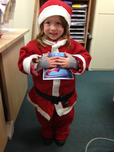 Santa Fun Run - Jess B Daughter Approved