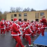 Santa Fun Run Warm Up