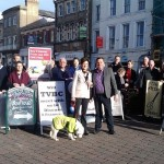 A-Boards Protest in Andover