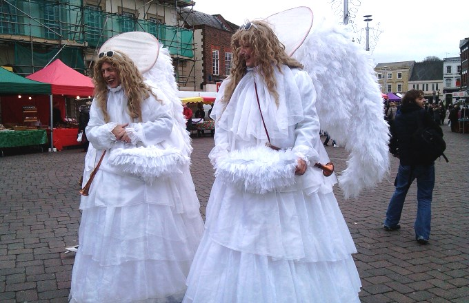 The Rock Angels from December's Andover Farmers' Market