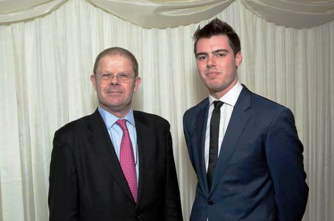 BIBA Chief Executive Steve White with Max Thompson from Be Wiser
