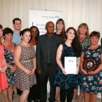 some of last year's winners – Ward C3 at Basingstoke hospital won a Nursing Team award