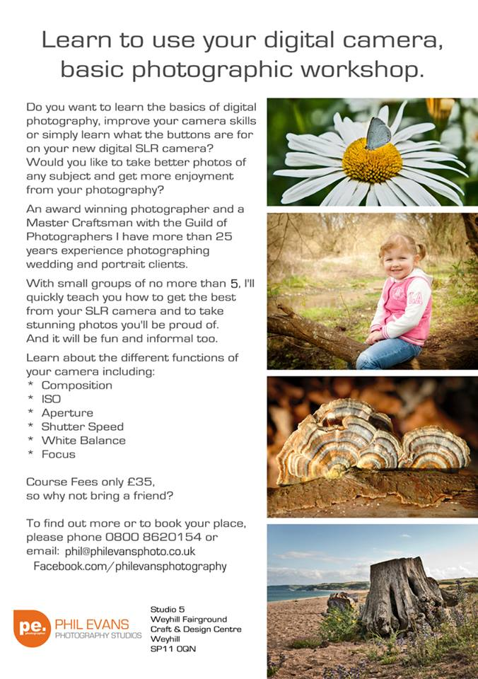 Phil Evans Photography Course