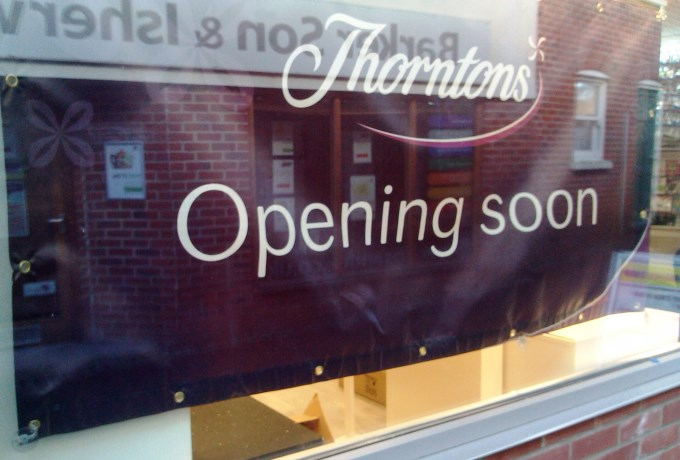 Thorntons Andover - Pre Opening