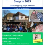 Andover Sleep In 2015 - Poster