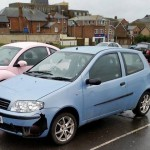 George Yard Fiat Damaged