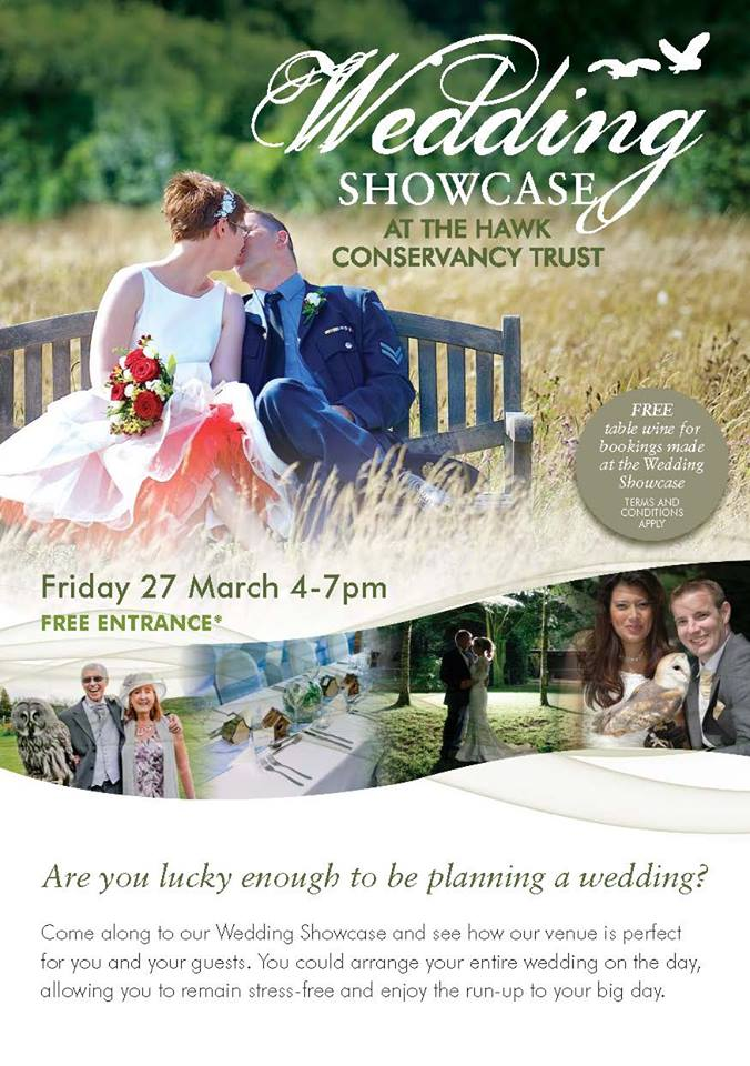 Hawk Conservancy Wedding Fair