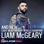Liam McGeary Declared New World Champion