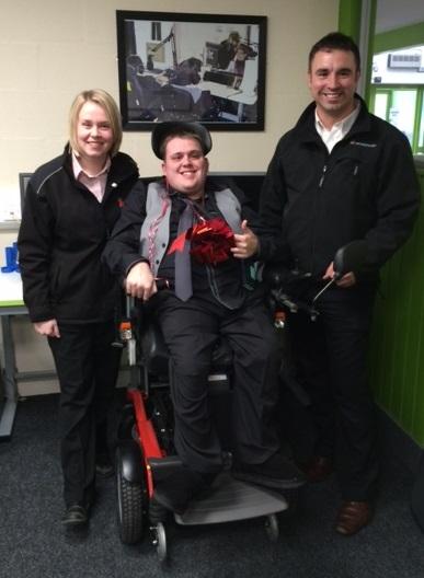 Simplyhealth - Shaun's Wheelchair