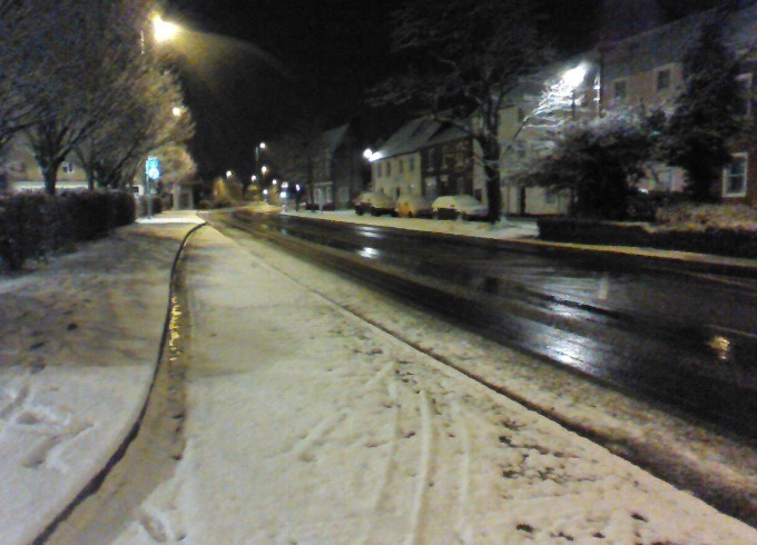 Snow in Andover - 20150203-2
