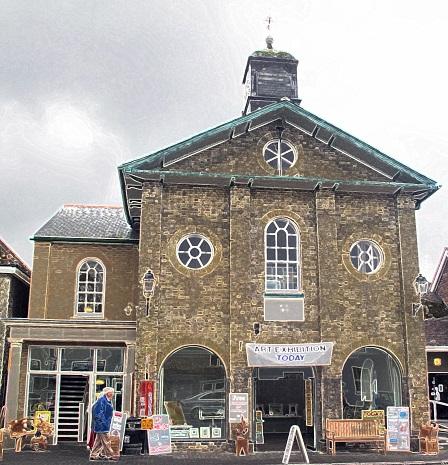 Stockbridge Town Hall (image courtesy of Stockbridge Town Hall)