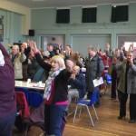 Stockbridge residents enjoy the Big Band Buffet