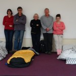 Charity Sleepers Rise to the Challenge for Andover's Young People