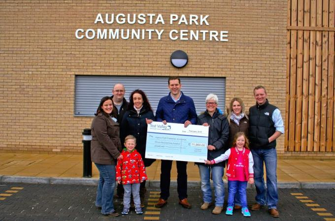 Augusta Park Community Association - Cheque Presentation