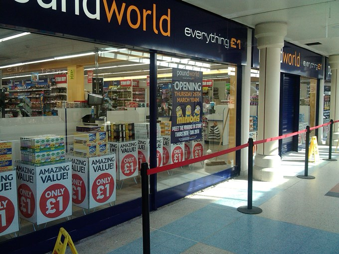 Poundworld Andover