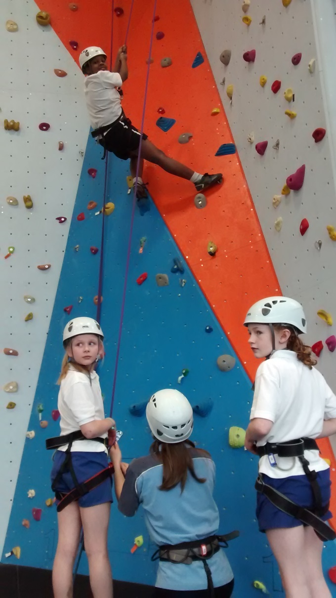 Sparsholt College - Climbing Wall