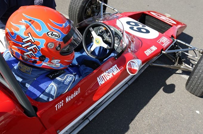 Tiff Needell in a Lotus 69F