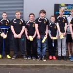 Andover RFC's Under 14s Clean Up with a Car Wash