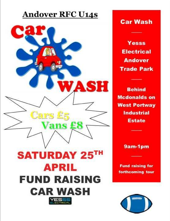 Get Your Car (or Van) Washed Saturday