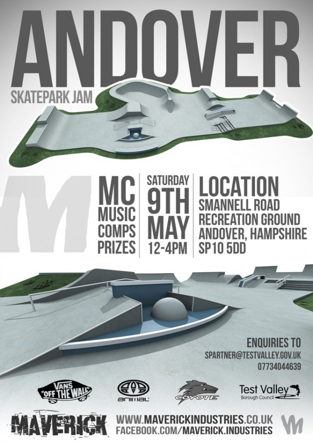 Andover Skate Jam May 2015
