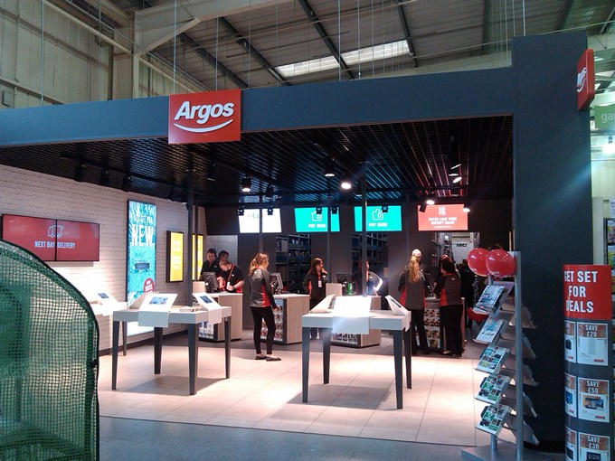 Argos in Homebase Andover - The New Store