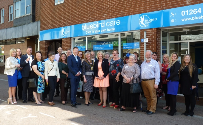 Bluebird Care Celebrate Their Opening
