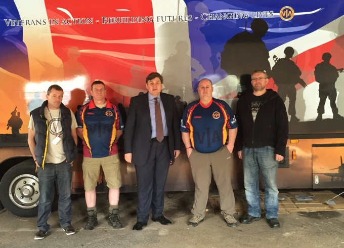 Conservative - Kit Malthouse Visits VIA