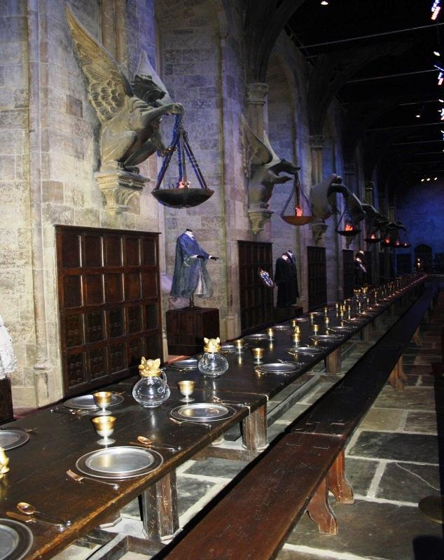 John Hanson - Harry Potter Film Set