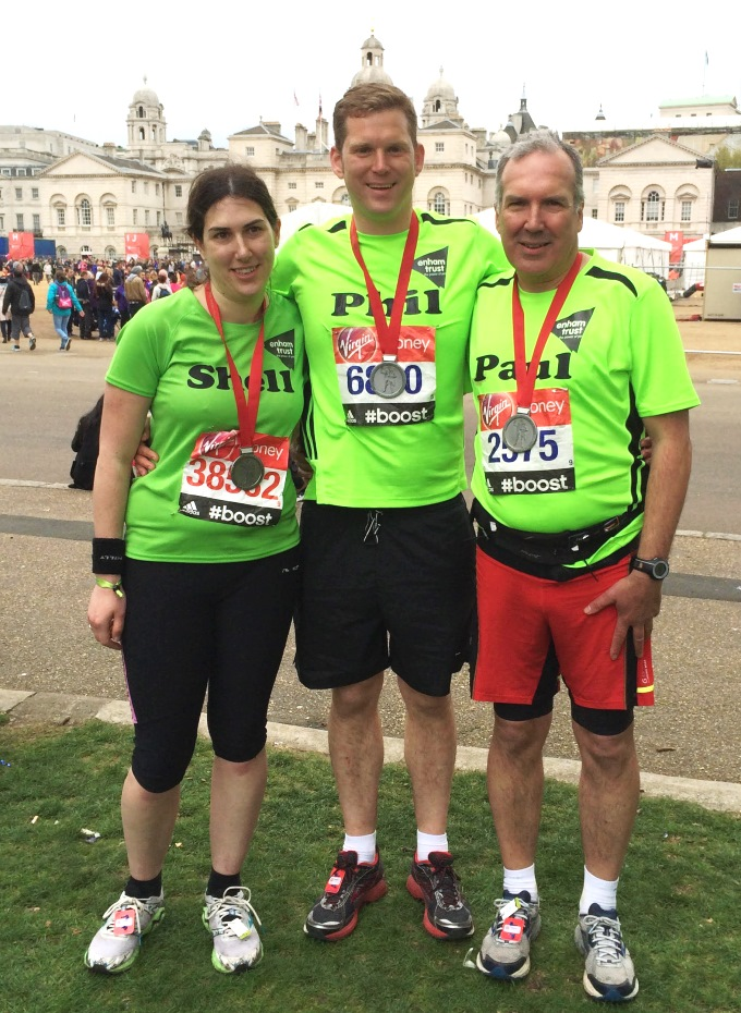Phil North - London Marathon 2015