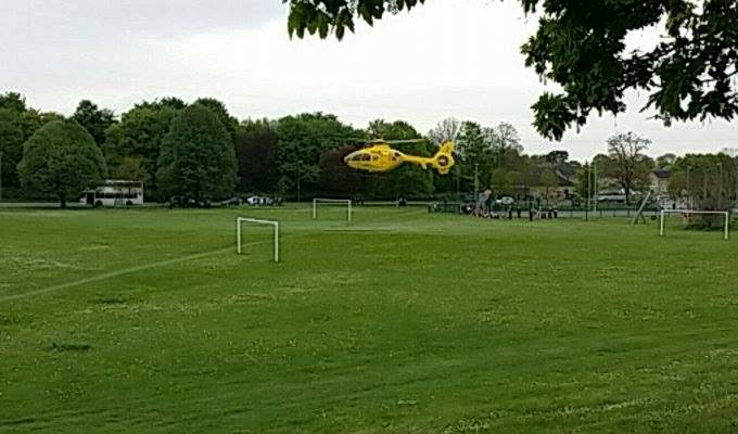 Air Ambulance - Smannell Road 2