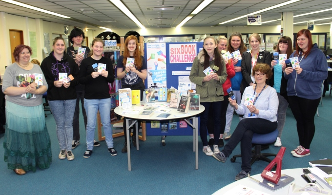Andover College - Six Book Challenge Waitrose