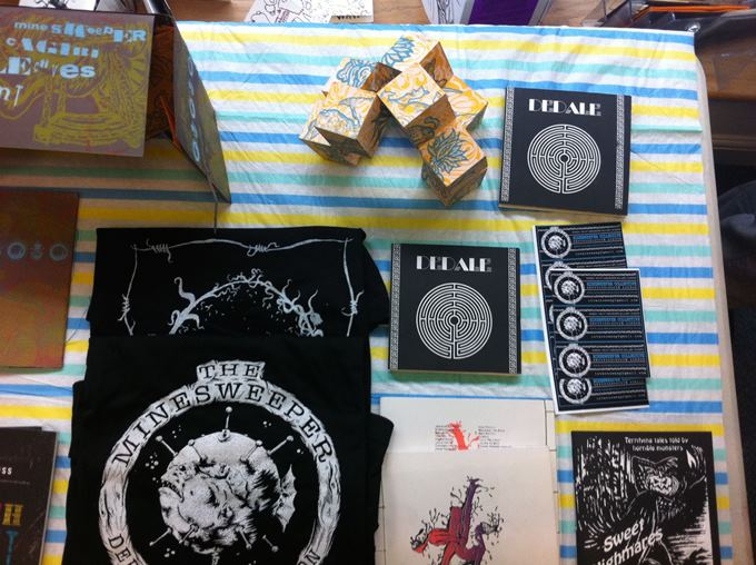 T-Shirt and Zines at the Bureau of Exchange in Andover's Union Street