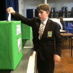 Harrow Way School Students Vote Conservative Back into Power
