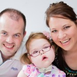 Lacey with Mum and Dad