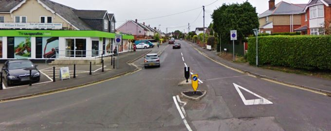 Mylen Road in Andover (Image courtesy of Google Map)