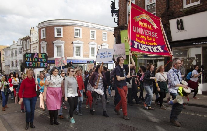 2014 March for Optimism in  Winchester