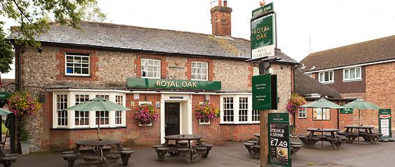 Royal Oak Pub Charlton - photo from Greene King website