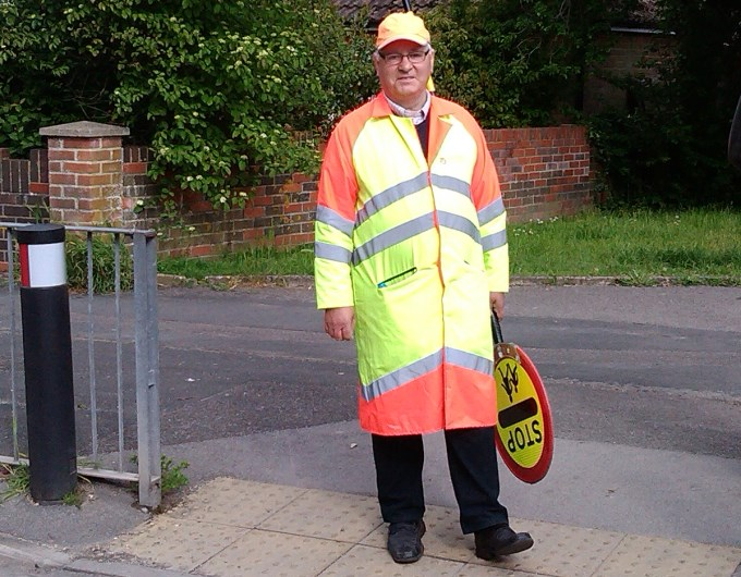 Vigo School Andover Lollipop Man