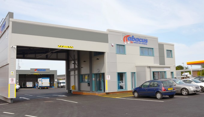Abacus New Vehicle Reception Centre in Andover