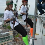 Harrow Way Student Abseils Down The Blade, Reading's Tallest Building