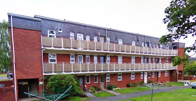 Rack Close in Andover (image courtesy of Google Map)