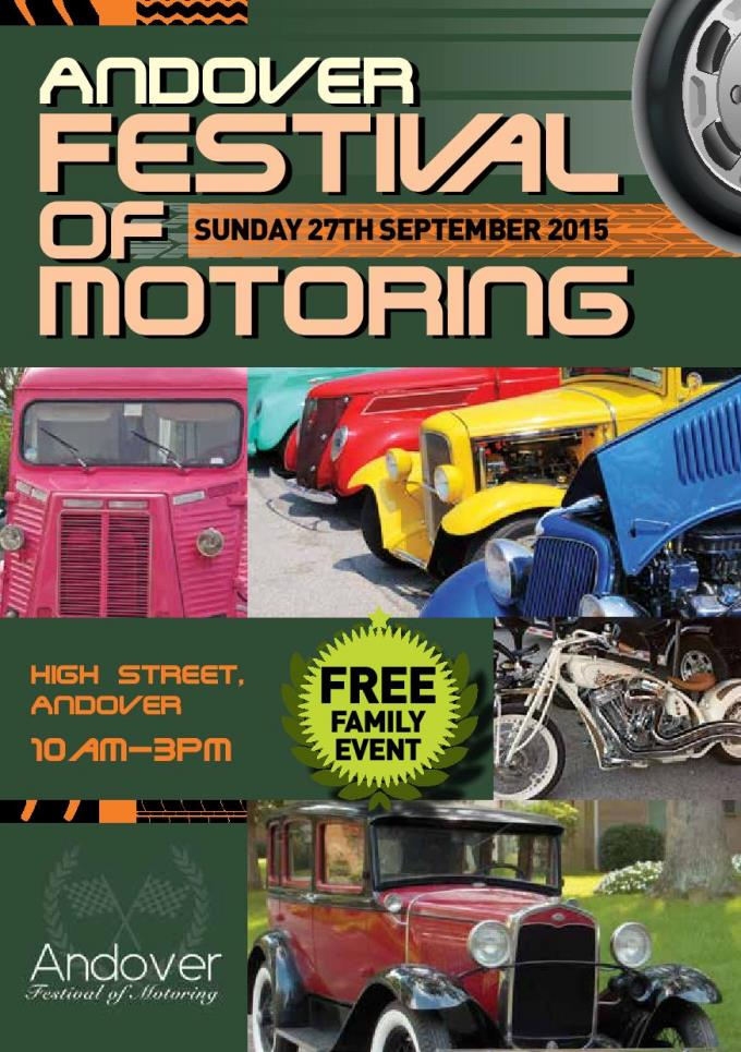 Andover Festival of Motoring 2015a