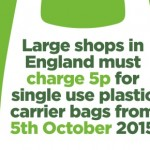 Carrier Bag Charge Poster
