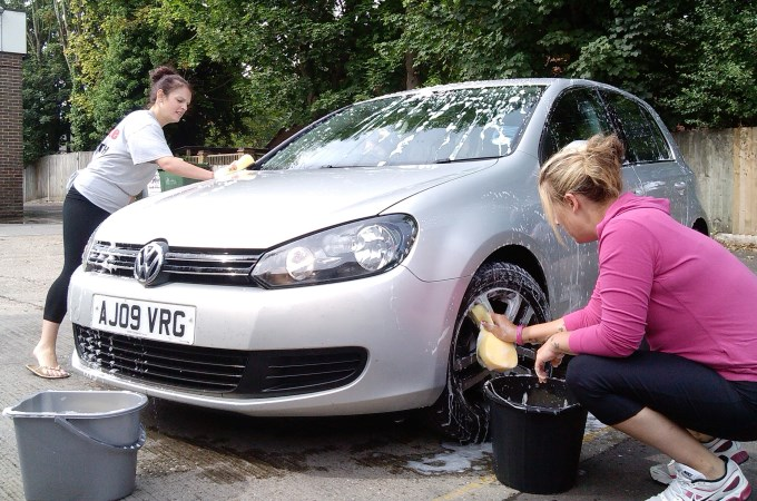 Fire Station Car Wash - Golf Cleaning