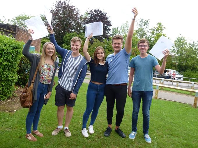 Harrow Way School Andover -  GCSE Reults 2015 A