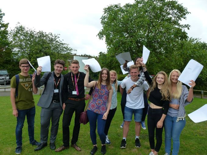 Harrow Way School Andover - GCSE Reults 2015 B
