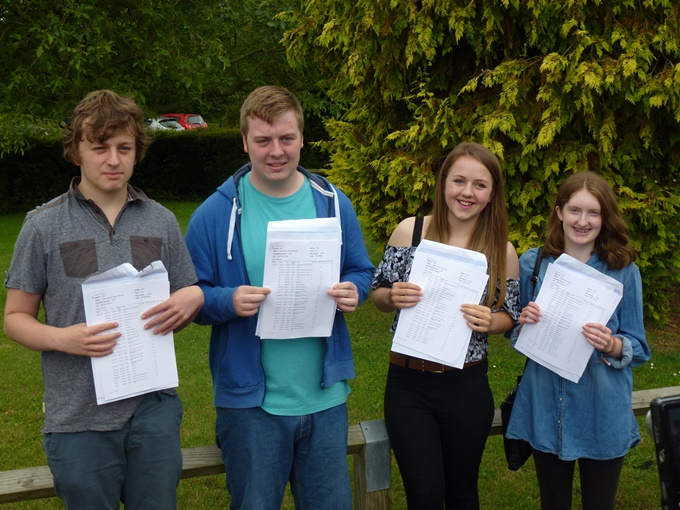 Harrow Way School Andover - GCSE Reults 2015 C