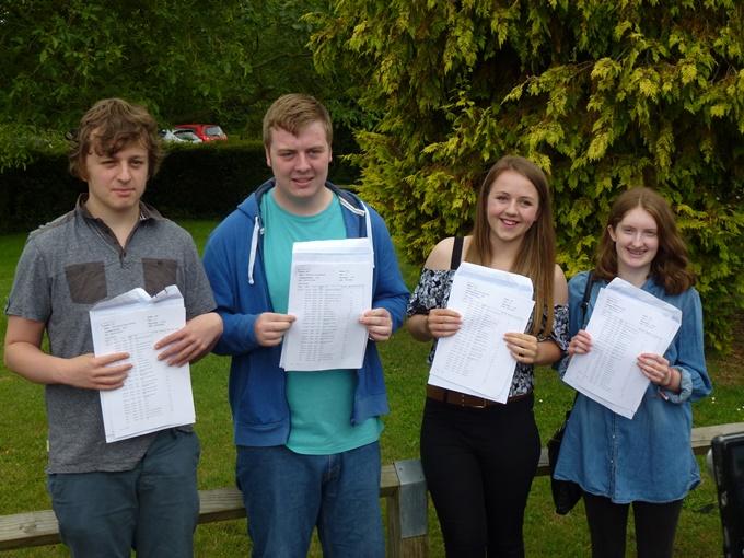Harrow Way School Andover - GCSE Reults 2015 C