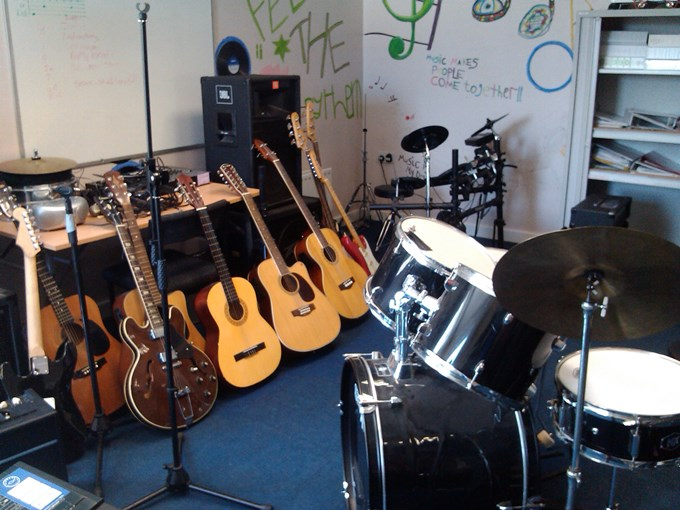 The Music Room at The Junction in Andover