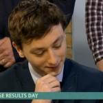 Andover Teen's GCSE Relief in Front of TV Millions
